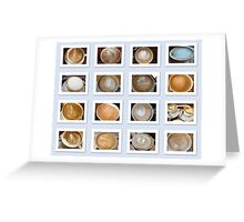 Latte Coffee Art Collection Greeting Card