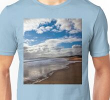 Northumbrian beach scene Unisex T-Shirt
