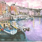 Dusk at Padstow by doatley