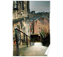The Patrick Geddes Steps Poster