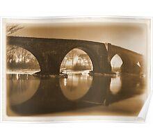Stirling Bridge Mirrored Poster