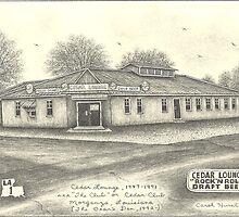 """Cedar Lounge, 1947-1991 (Cedar Club, """"The Club"""") by carolhurst"""