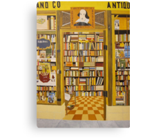 Shakespeare and Co Bookstore, Paris Canvas Print