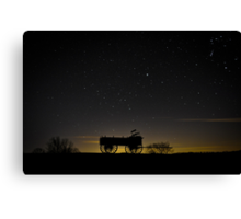 Wagon Hill Canvas Print