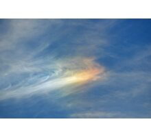 Sundog - Beauty in the Sky Photographic Print