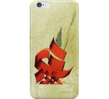 Arabic calligraphy - Rumi - Another form iPhone Case/Skin