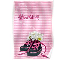 Girlie Sneakers Poster
