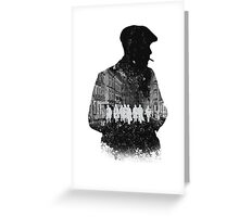 Peaky Blinders Greeting Card