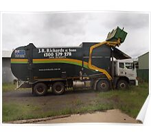 Iveco ACCO Garbage Truck Poster