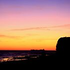 Sunset in Barrosa by Timothy Adams