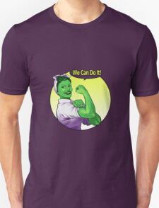 She-hulk the Riveter Unisex T-Shirt