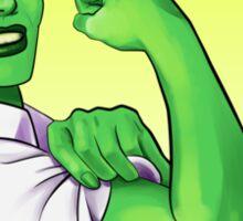 She-hulk the Riveter Sticker