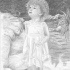&quot;Innocence Springs Eternal&quot; Little girl by a stream by iLovePencils