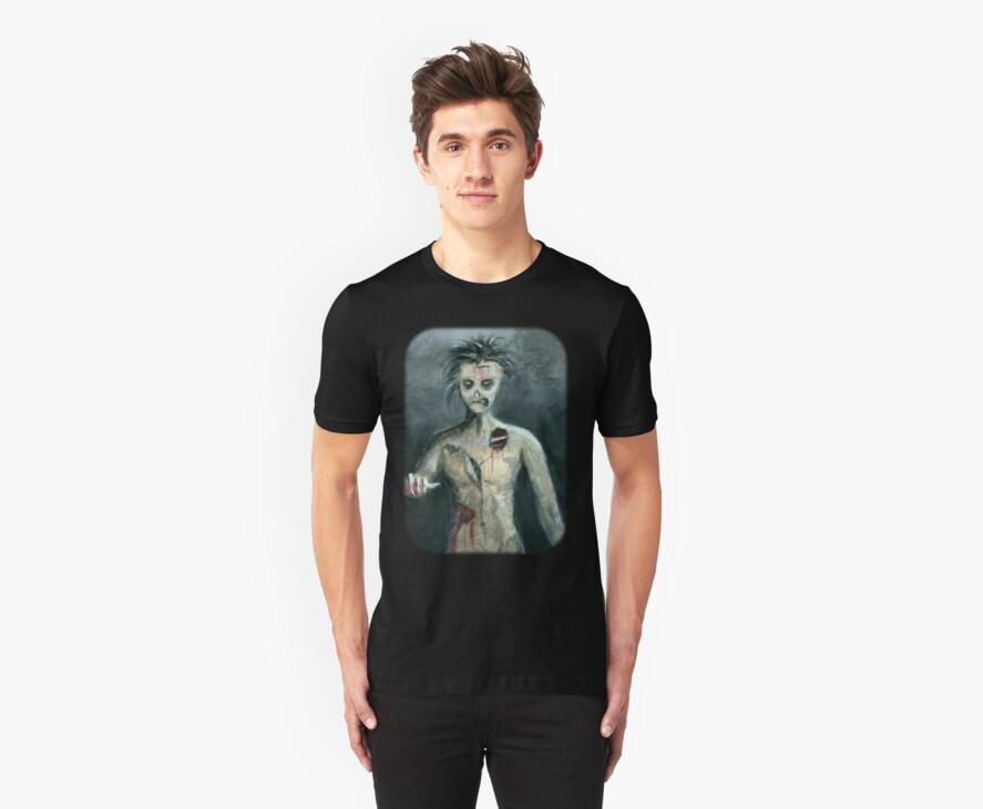 Ug The Zombie Tee Shirt by Lee Twigger