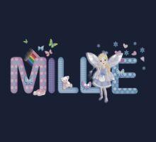 MILLIE / personalised name illustration Baby Tee