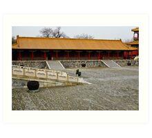 Solitude in the Forbidden City Art Print
