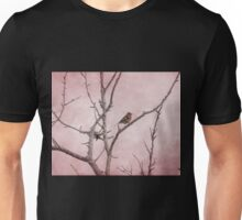 Chaffinch and Pink Sky Unisex T-Shirt