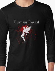 Supernatural Fight the Fairies v2.0 Long Sleeve T-Shirt