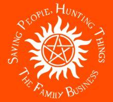 Supernatural Family Business v2.0 Kids Tee