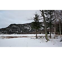 Ontario winter Photographic Print