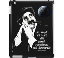 groucho iPad Case/Skin