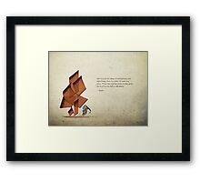 Arabic calligraphy - Rumi - Beyond Framed Print