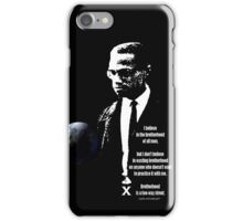 malcom x iPhone Case/Skin