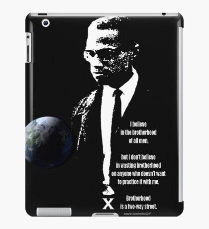 malcom x iPad Case/Skin