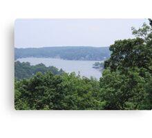 Hopatcong Lake New Jersey Canvas Print