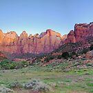 Sunrise at Tower of the Virgins - Panoramic View by Gregory Ballos | gregoryballosphoto.com