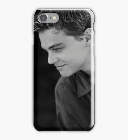 Young Leonardo DiCaprio iPhone Case/Skin