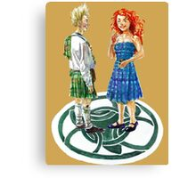 Dingwall Dance Canvas Print