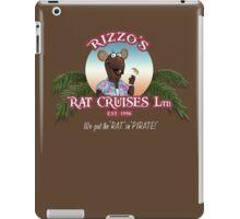 Rizzo's Rat Cruises Ltd iPad Case/Skin