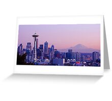 Good evening, Seattle! Greeting Card