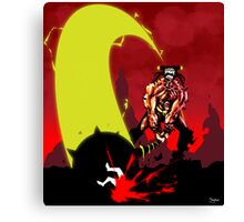 Last Stand in Hell - the Hammerhead Canvas Print