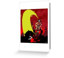 Last Stand in Hell - the Hammerhead Greeting Card