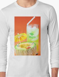 Summer Memory miniature art Long Sleeve T-Shirt
