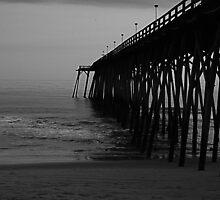 Kure Beach Pier Triptych I by mojo1160