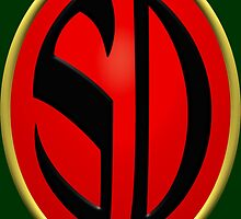 Strontium Dog Badge by kerchow
