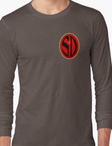 Strontium Dog Badge Long Sleeve T-Shirt