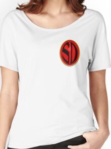 Strontium Dog Badge Women's Relaxed Fit T-Shirt