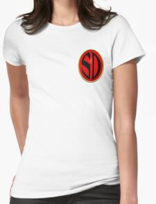 Strontium Dog Badge Womens Fitted T-Shirt