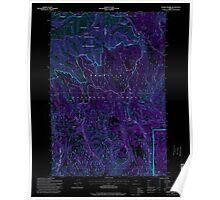 USGS Topo Map Oregon Andies Prairie 278844 1995 24000 Inverted Poster