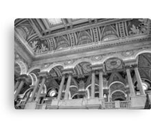 Library of Congress Ceiling Canvas Print