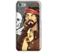 One-tooth pirate iPhone Case/Skin