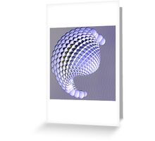Reflective Unreality V Greeting Card