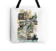 The Girl on Poppy Hill Tote Bag