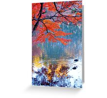 Autumn Colours 7 Greeting Card