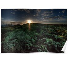 Twilights Last Gleaming - Loch Ard Gorge - Great Ocean Road - The HDR Experience Poster