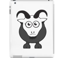 Grover The Goat in Grey iPad Case/Skin